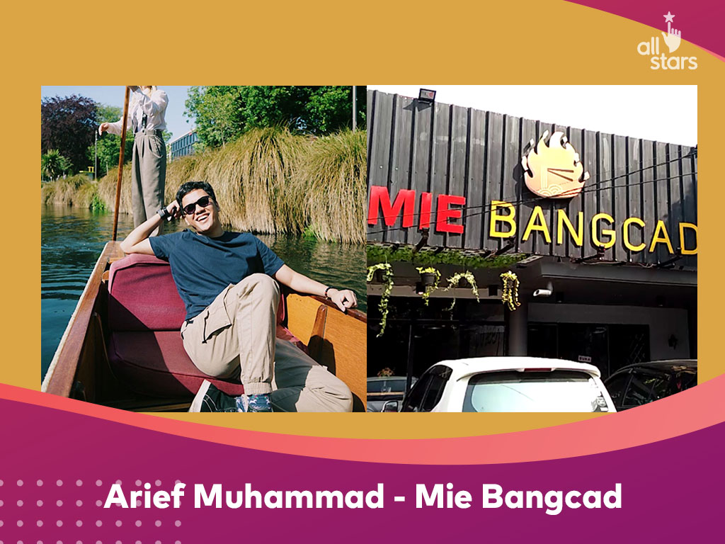 usaha sampingan arief muhammad