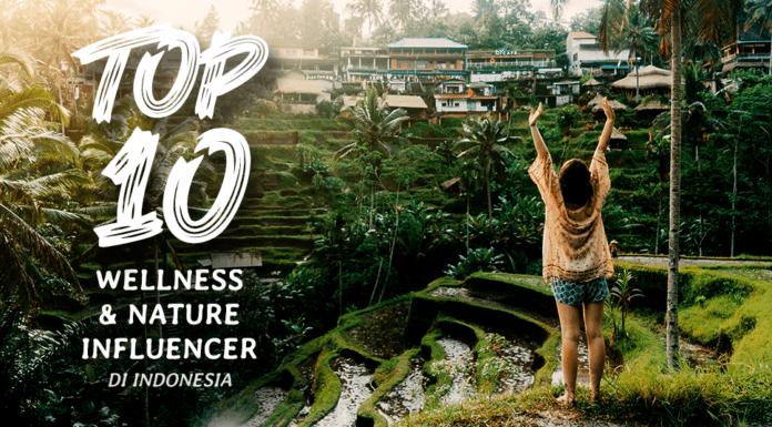 10 Selebram Kesehatan dan Keindahan Alam Indonesia