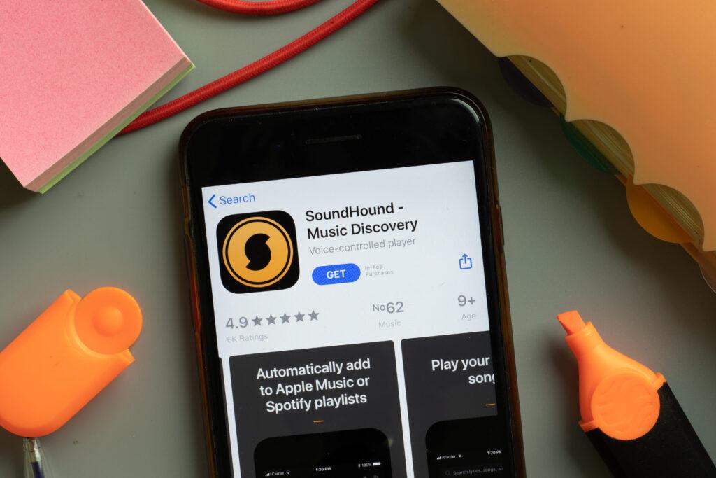 aplikasi soundhound